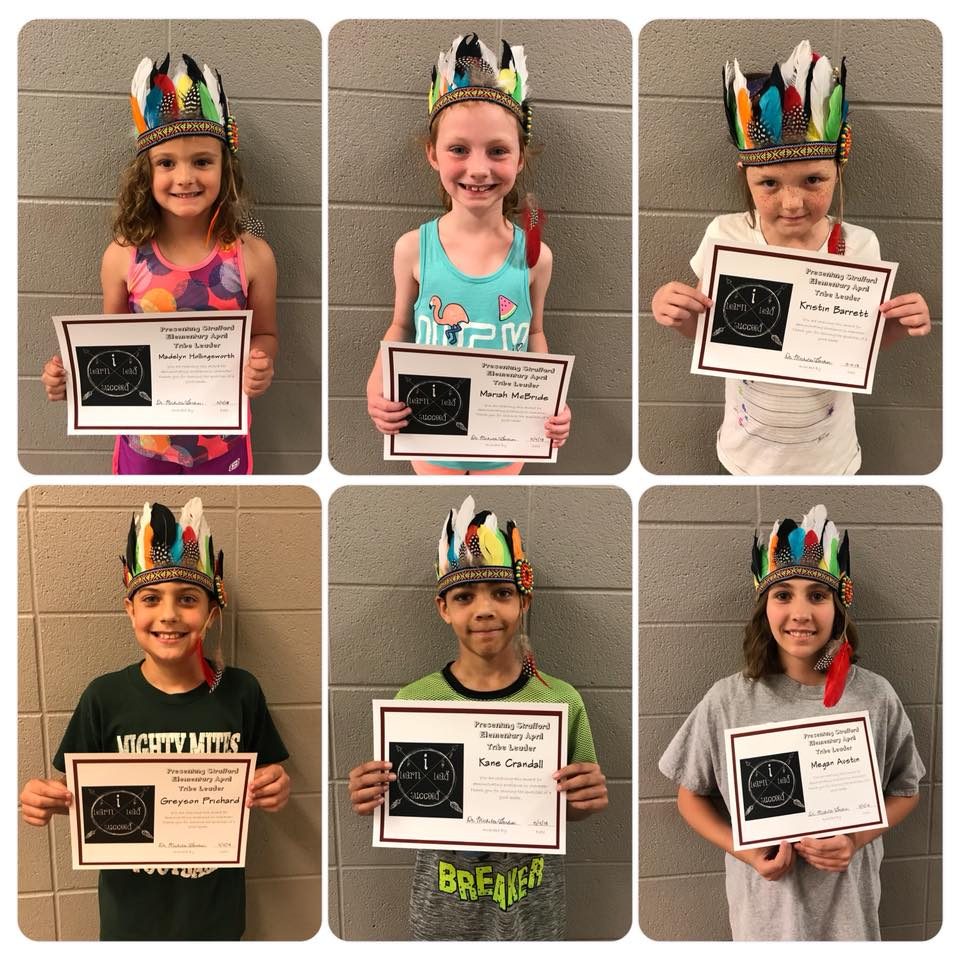 April Tribe Leaders