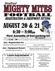 Mighty Mites Sign Up