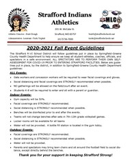 Fall Activity Guidelines