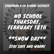 No School Feb 18