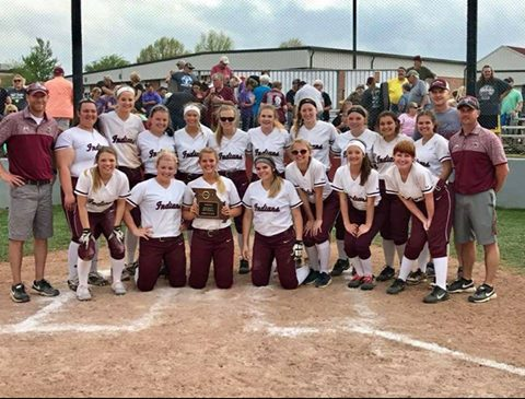 Lady Indians District Champs