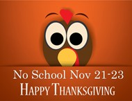 No School Thanksgiving Break