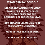 School Closed Remainder of Year