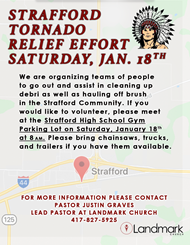 Tornado Relief Effort