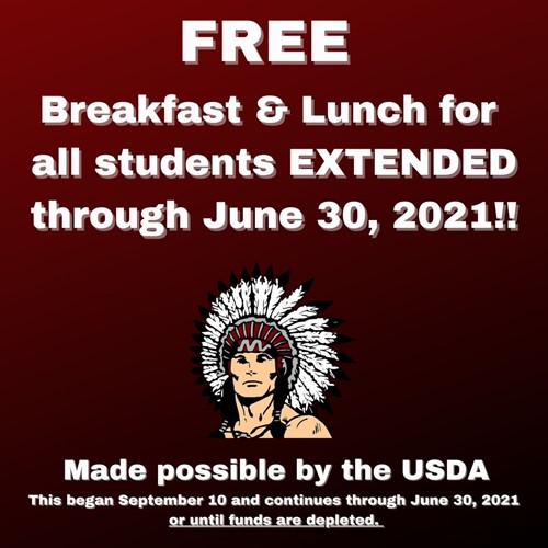 Free Breakfast and Lunch Extended