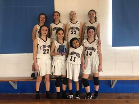JH Girls Basketball Wins Greenfield Tournament! - Strafford Middle