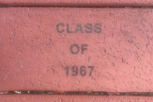 Class of 67 Paver