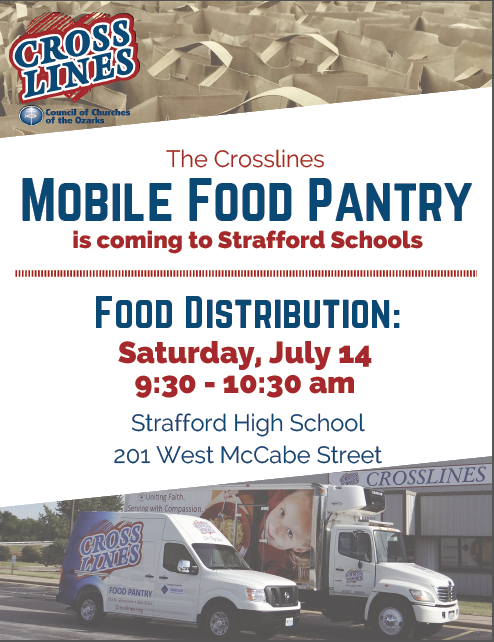 Crosslines Mobile Food Pantry July 14
