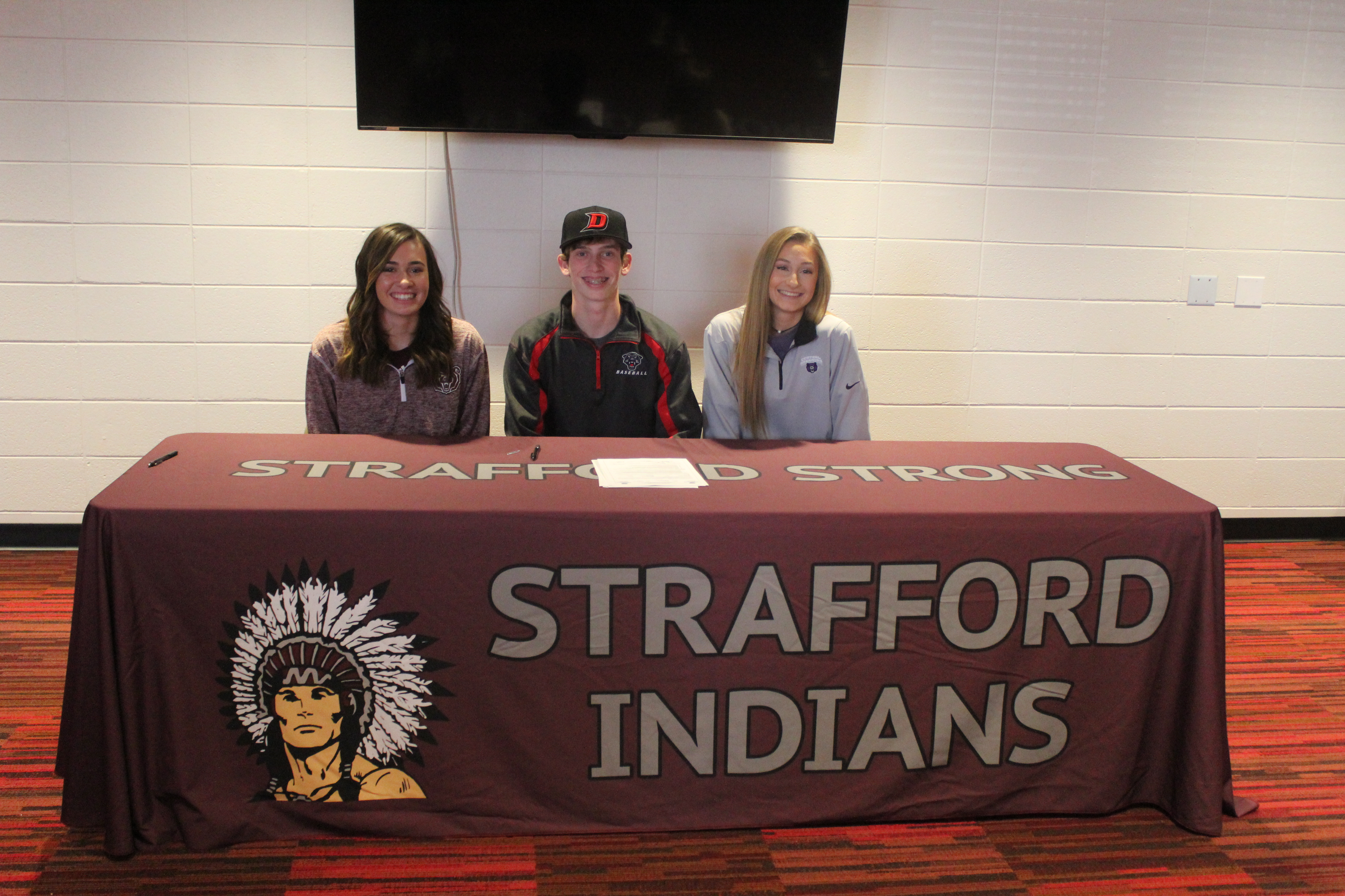 3 College Signings
